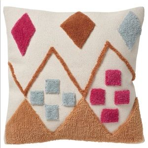 New IKEA BRUNSTARR Cushion cover hand-tufted cotton & wool